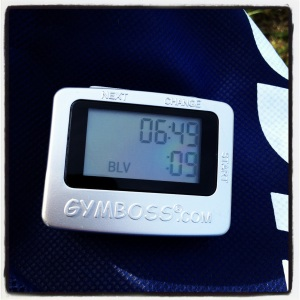Best 7min. 1-mile time