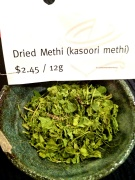 Dried Methi