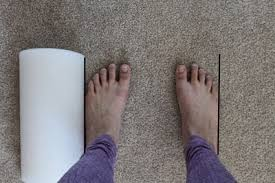 parallel feet